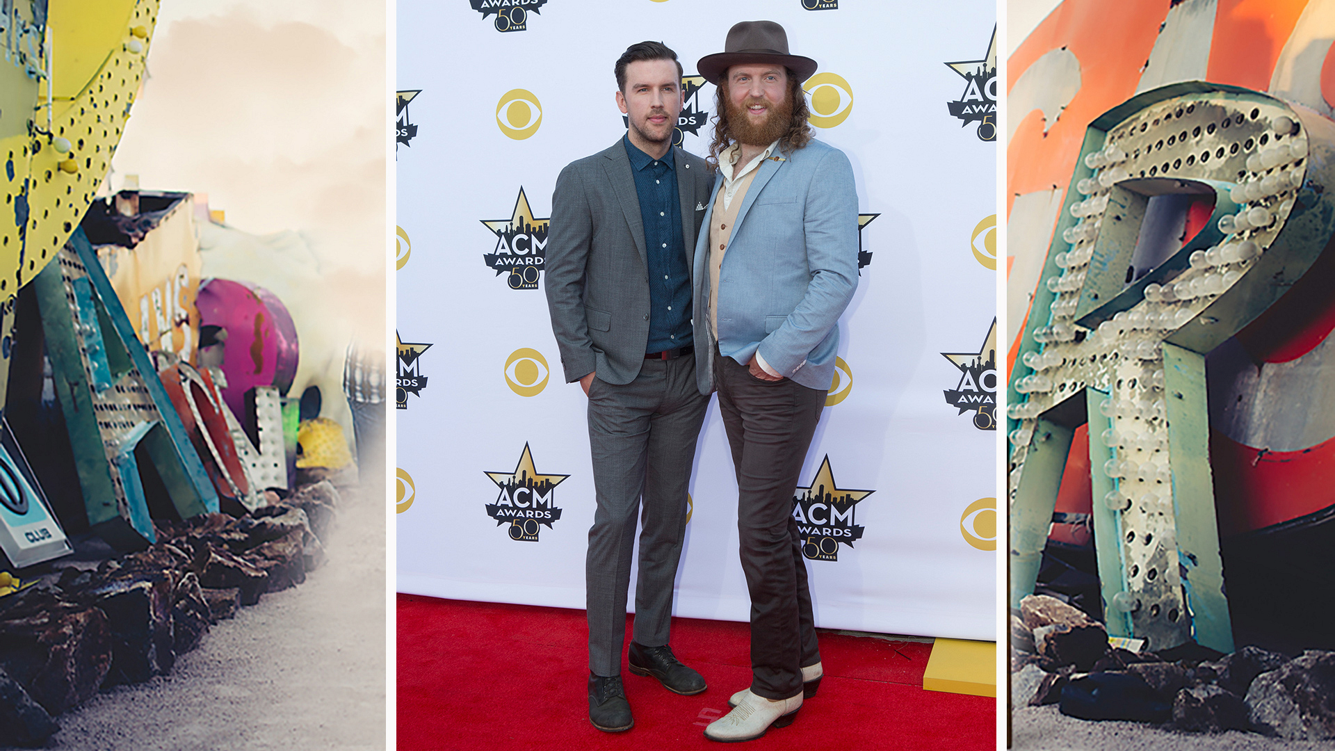 "The Brothers Osborne show off their ""American Crazy"" style."