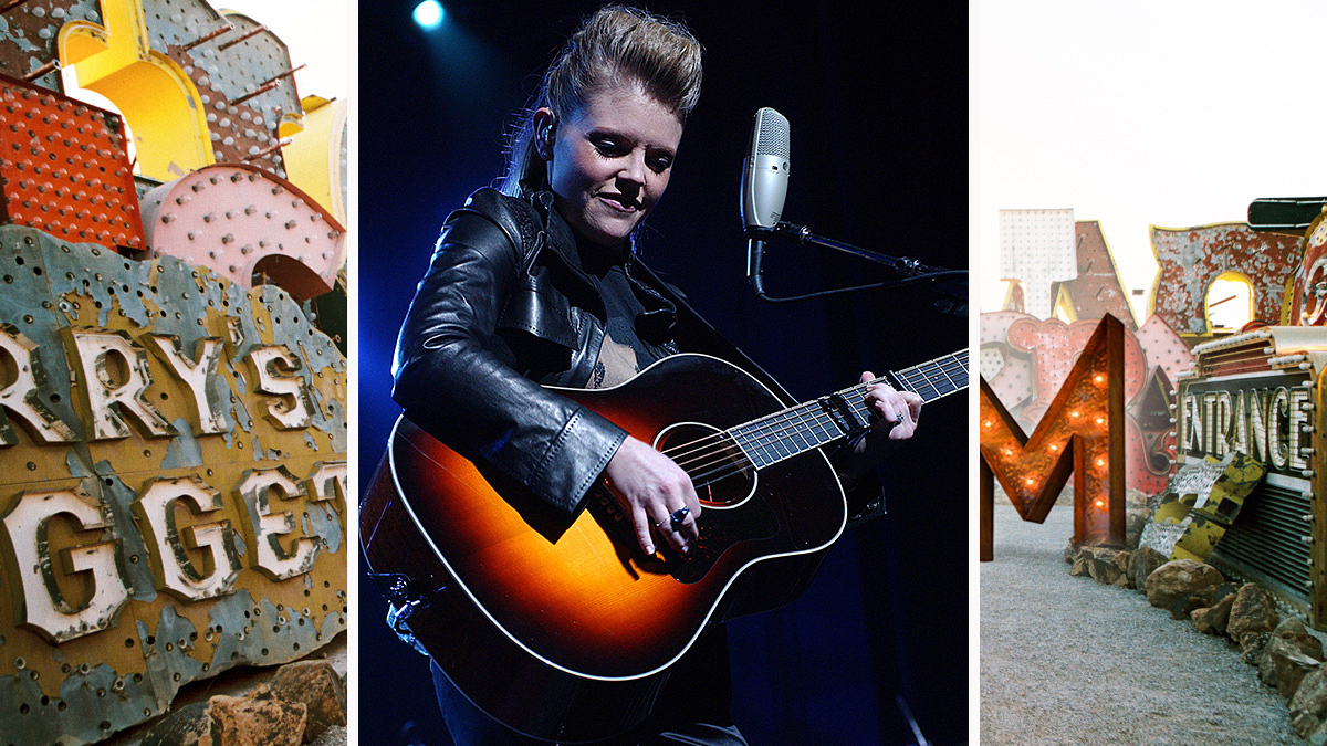 Dixie Chicks' Natalie Maines brings the party to the front.