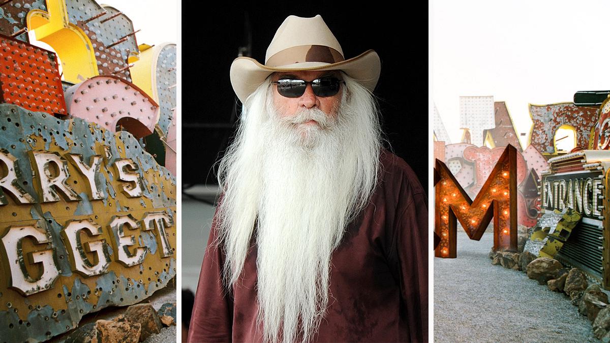 The Oak Ridge Boys' William Lee Golden matches his hair to his beard.