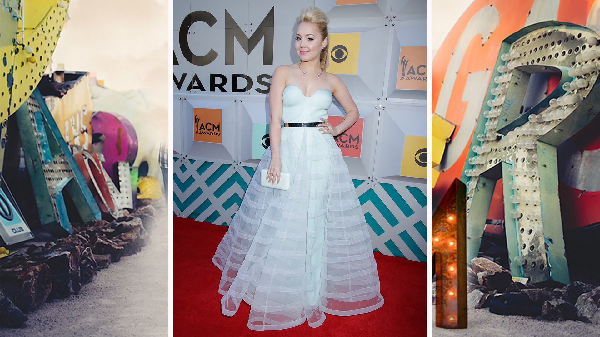 RaeLynn teases her tresses—and the boys—with her gravity-defying ponytail.