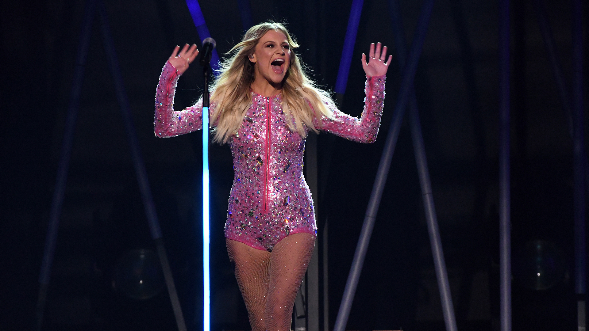 "Kelsea Ballerini performs ""Yeah Boy"" at the 52nd ACM Awards"