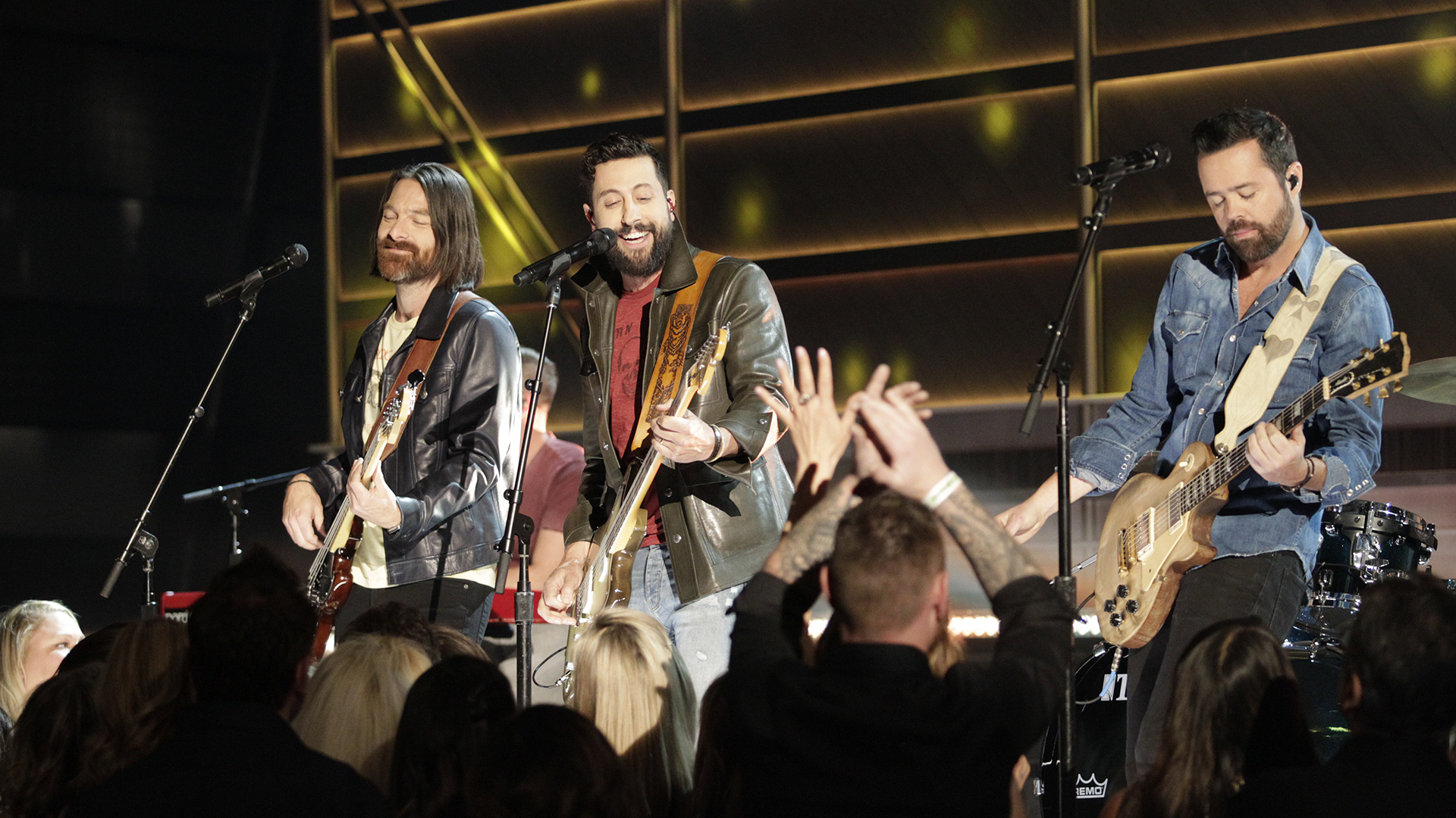 "Old Dominion performs ""No Such Thing As A Broken Heart"" at the 52nd ACM Awards"
