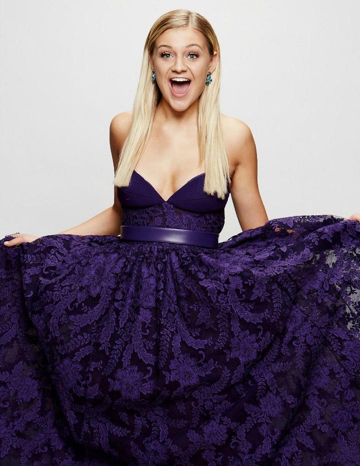 Kelsea Ballerini flashes her ACM Award-winning smile.