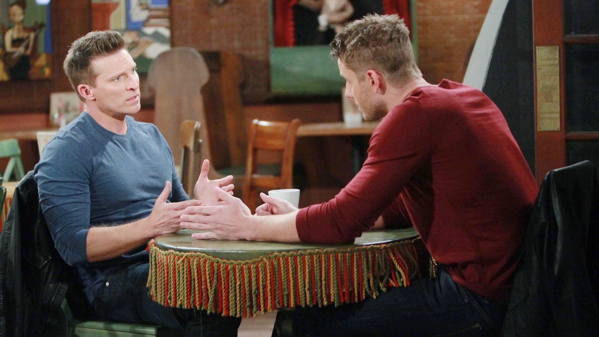 Adam turns to Dylan for help.
