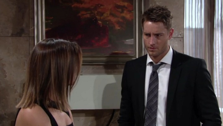 Adam worries Christian's paternity will be revealed.