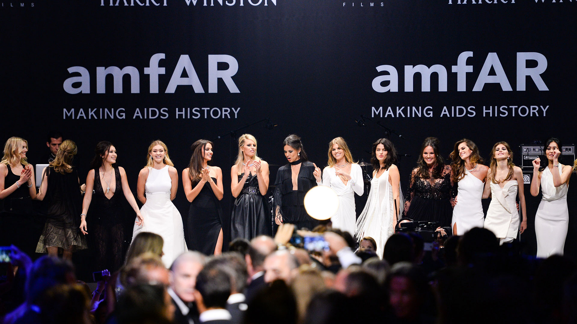The Angels advocate for AIDS research