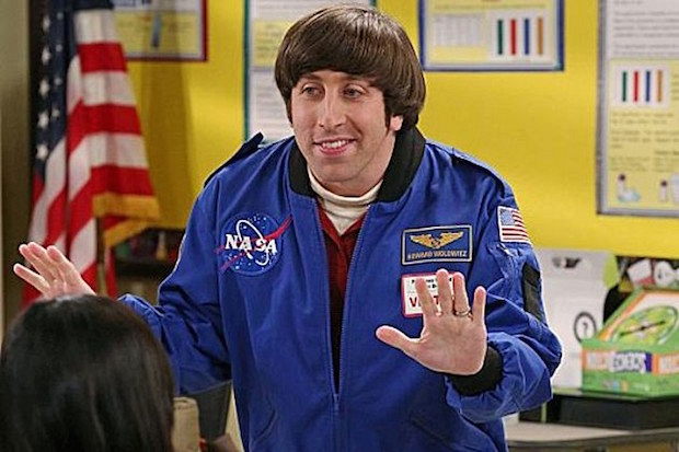 It's scientifically proven that all kids love astronauts.