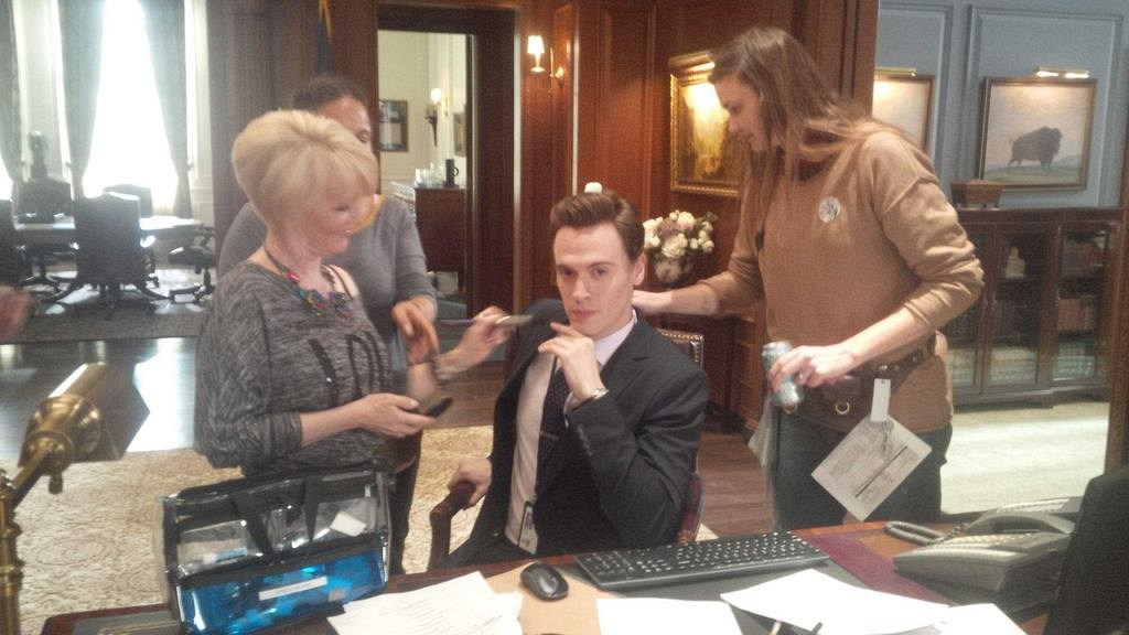 Behind The Scenes On The Set Of Madam Secretary Madam Secretary