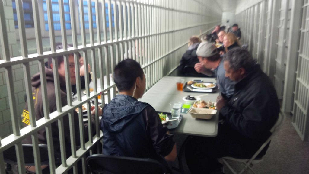Prison Lunch Break