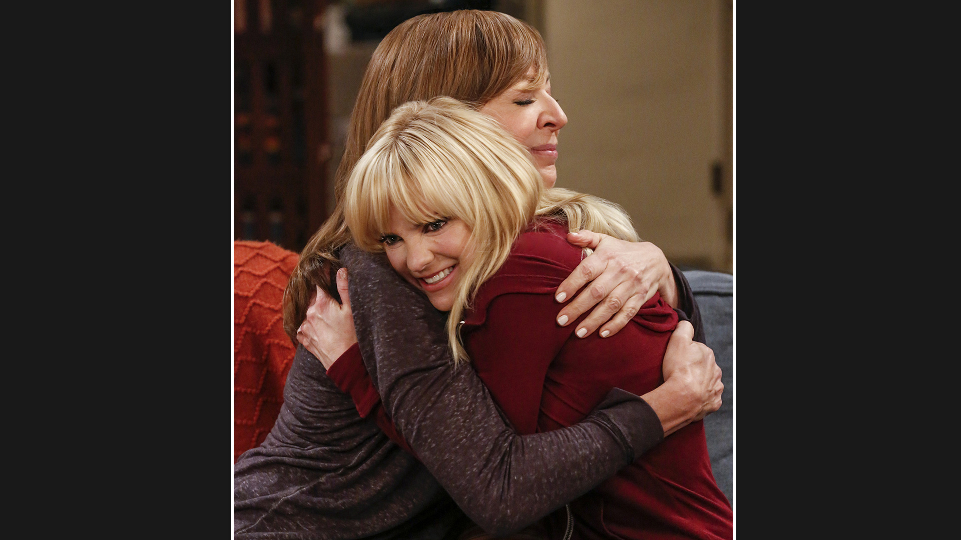 There's nothing quite like a hug from your mom.