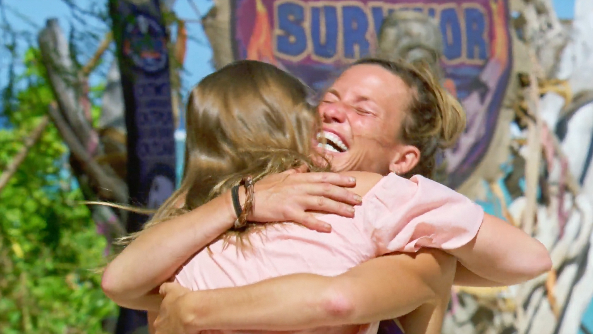 Season 36: Angela embraces her daughter.