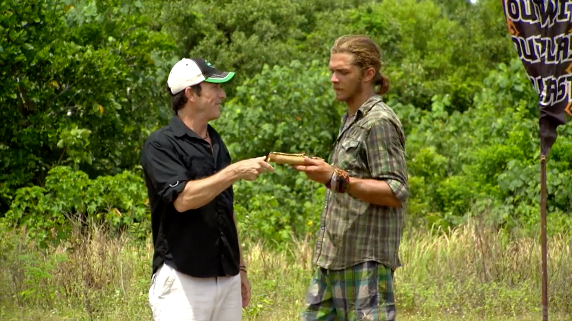 Malcolm Freberg's Advantage from Survivor: Philippines