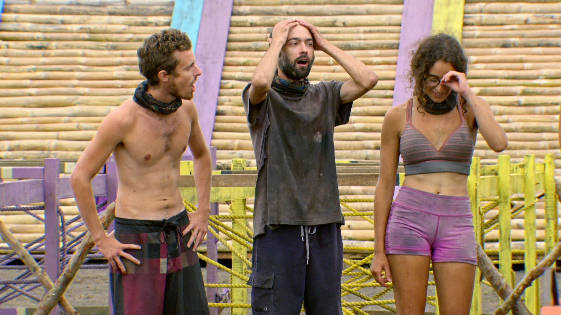 In addition to winning Immunity, the first to finish will score a delicious Reward entree.