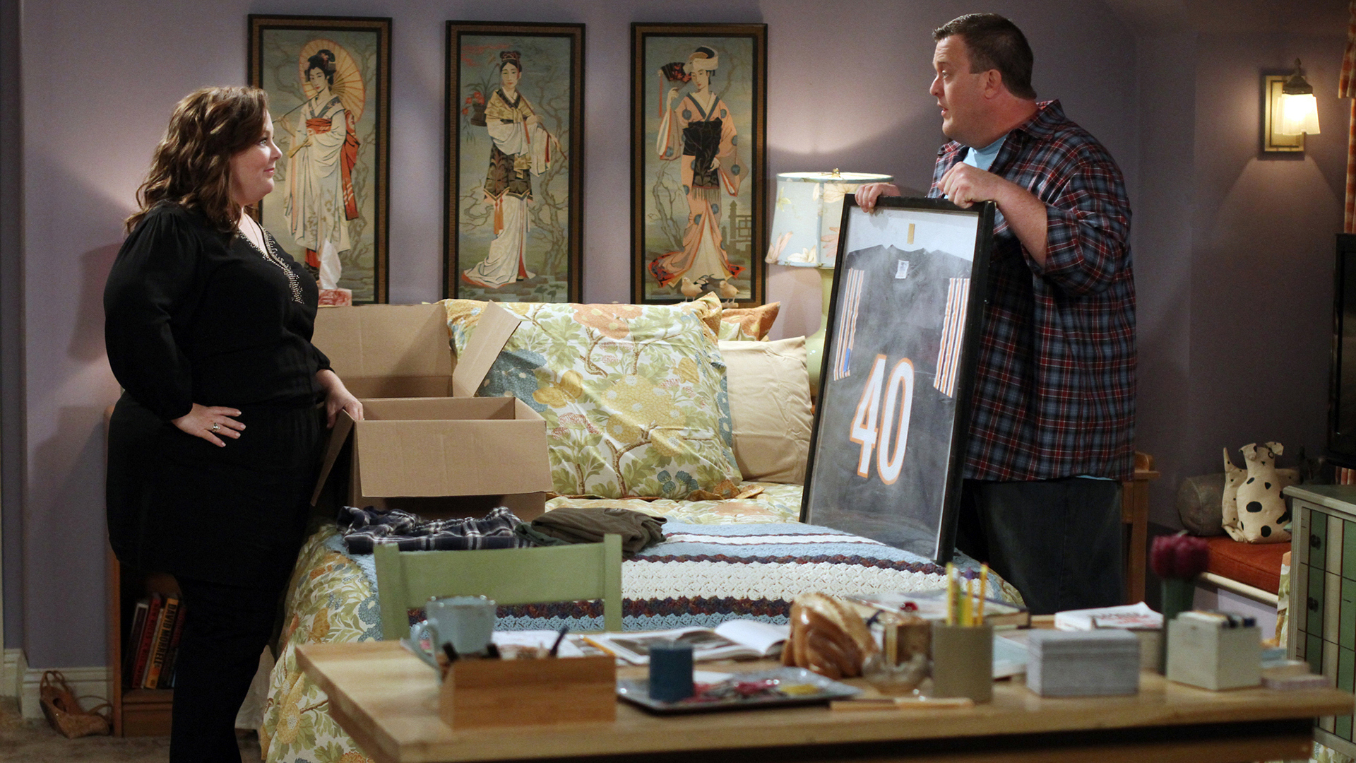 Now: Mike says goodbye to his bachelorhood and hello to domesticity.