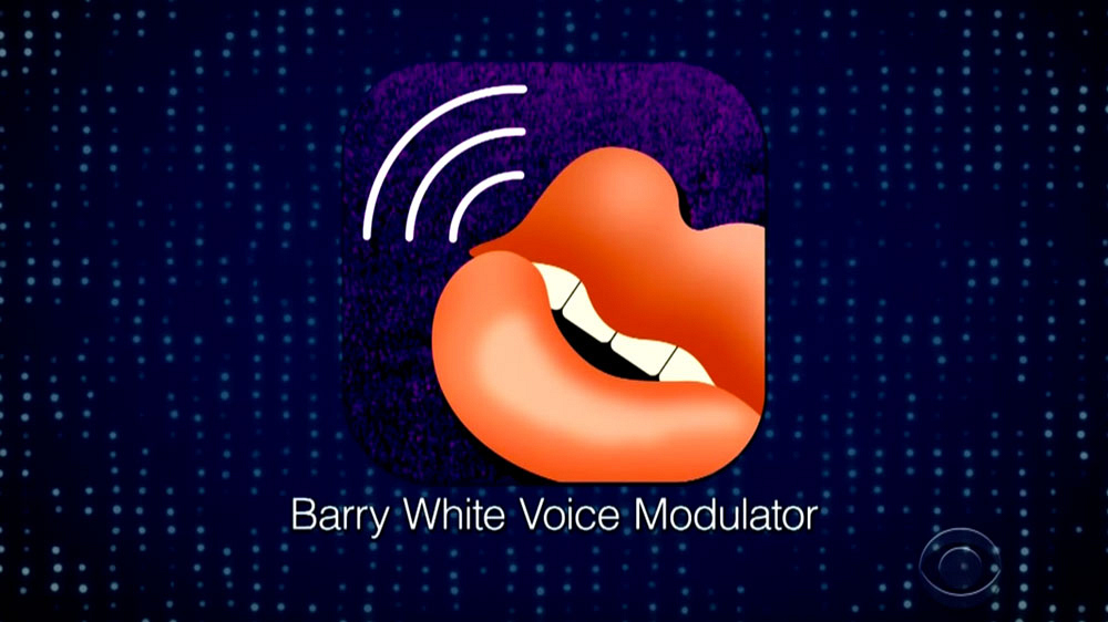 Barry White Voice Modulator