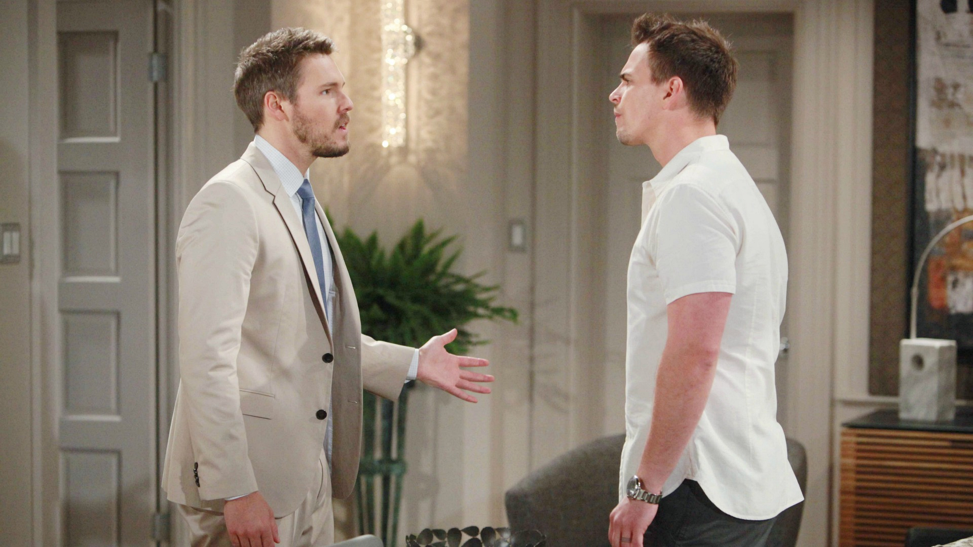 Wyatt accuses Liam of malice when he won't back down about having seen Quinn in the city.