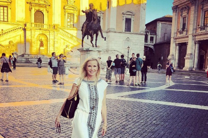Katherine Kelly Lang jetted off to Italy, Australia, and Hawaii.