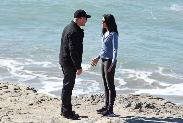 Quinn assures Deacon she's ready to take action.