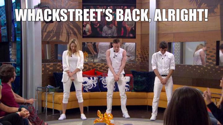 1. The Whackstreet Boys became a national sensation.