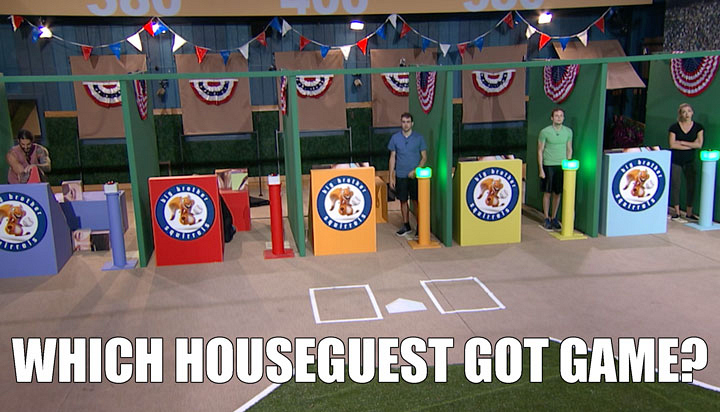 3. You won't believe who struck out during the HoH competition.