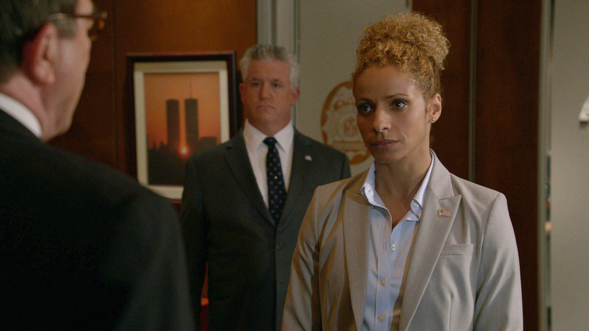CIA Agent Anne Reynolds