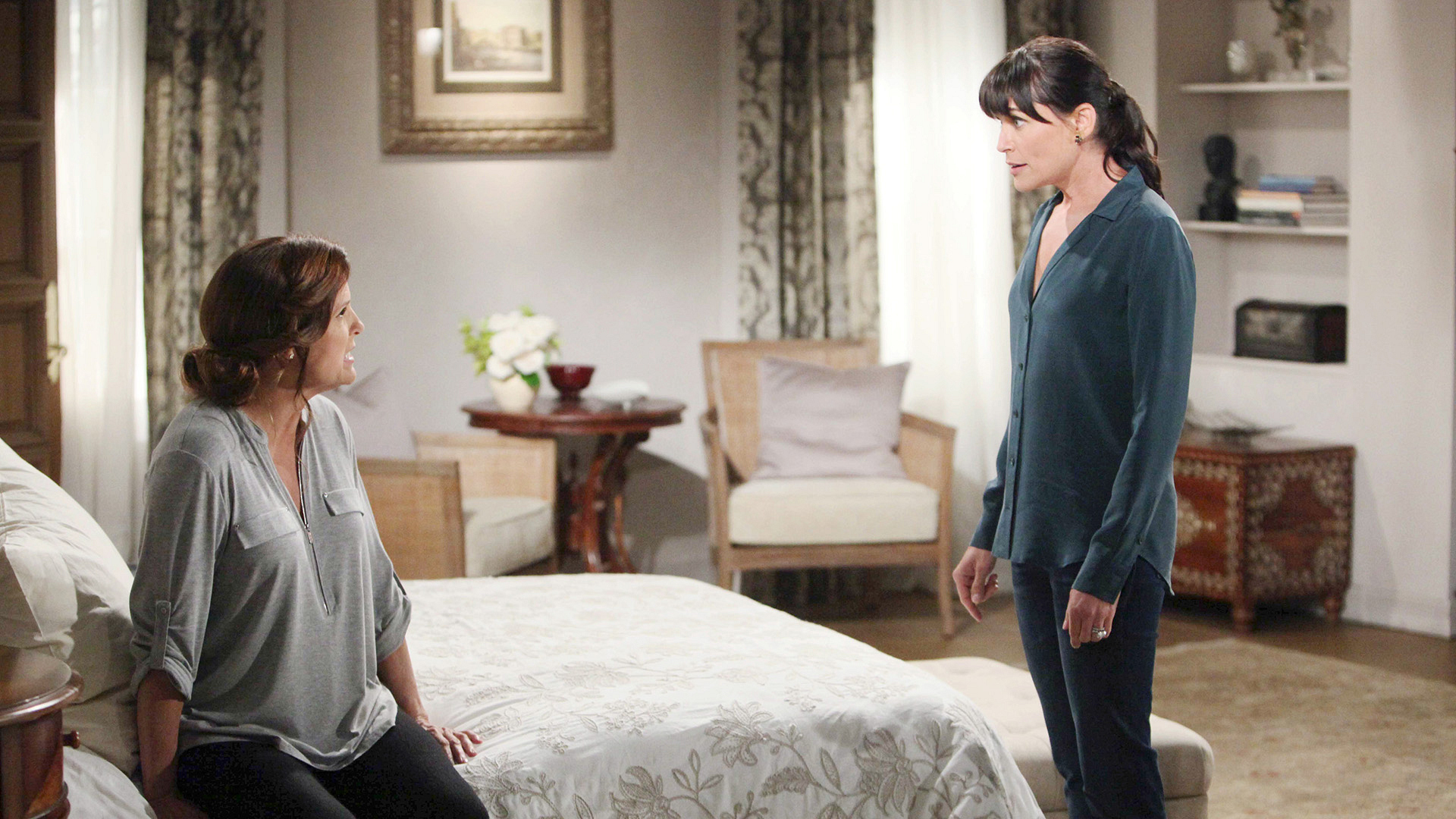 "Quinn and Sheila go for ""Round Two"" when Quinn discovers the secret that Sheila has been keeping."