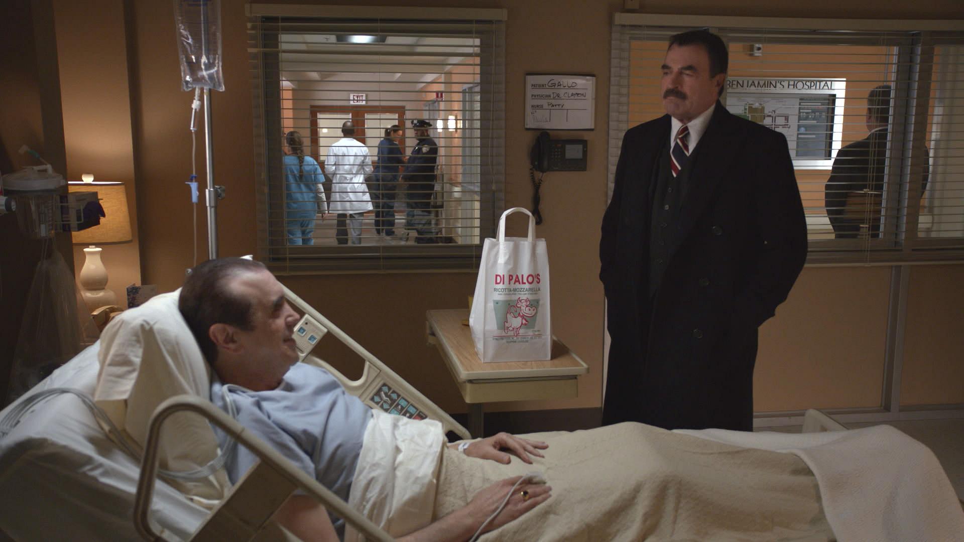 Frank Visits the Hospital