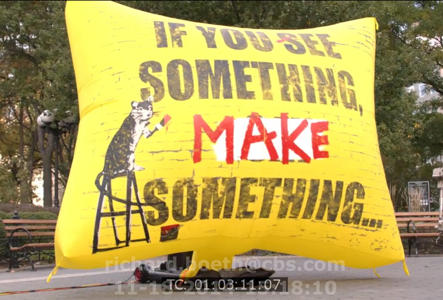 If you see something, make something... - S5E11