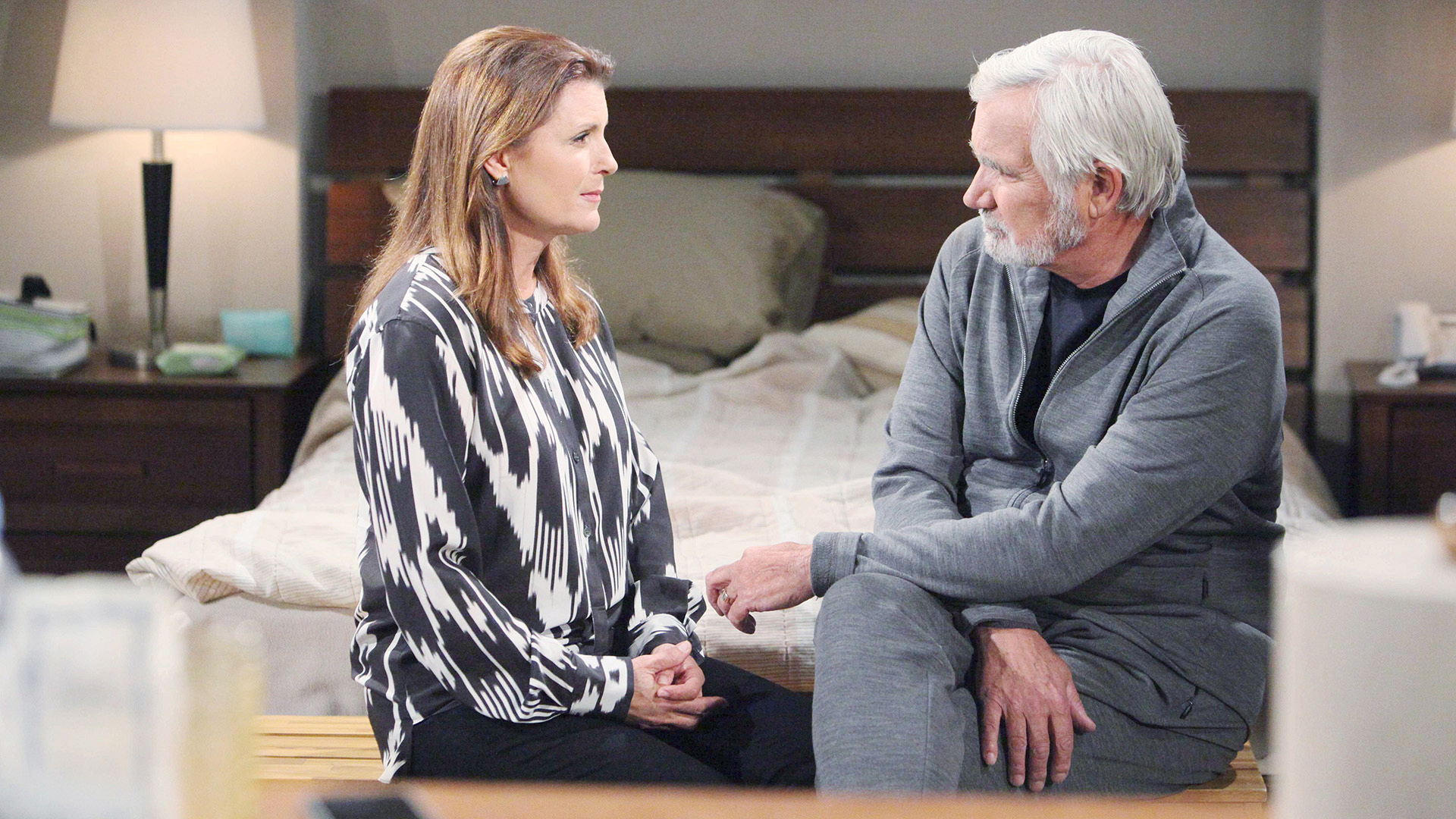 Sheila uses Eric's anger to her advantage in an attempt to earn his trust.