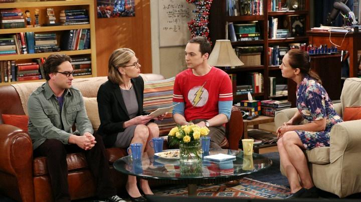 """""""The Maternal Combustion"""" (The Big Bang Theory)"""