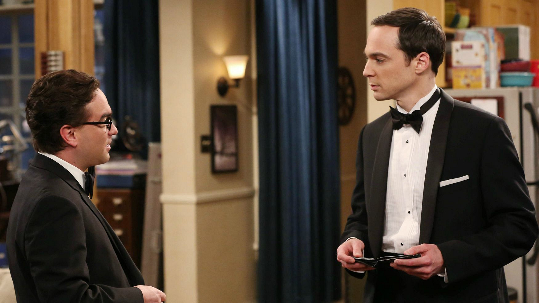 Dr. Leonard Hofstadter and Dr. Sheldon Cooper on The Big Bang Theory