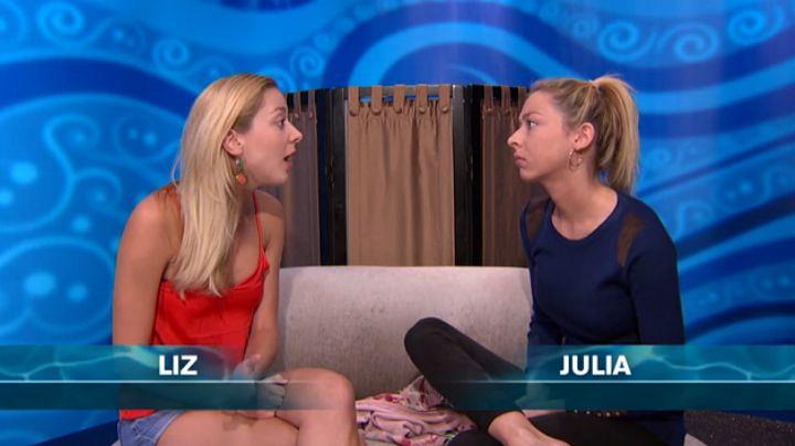 Liz told Julia to lose the 'tude.