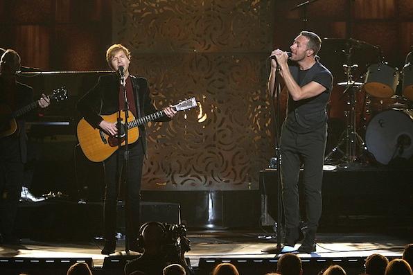 Beck and Chris Martin's Duet