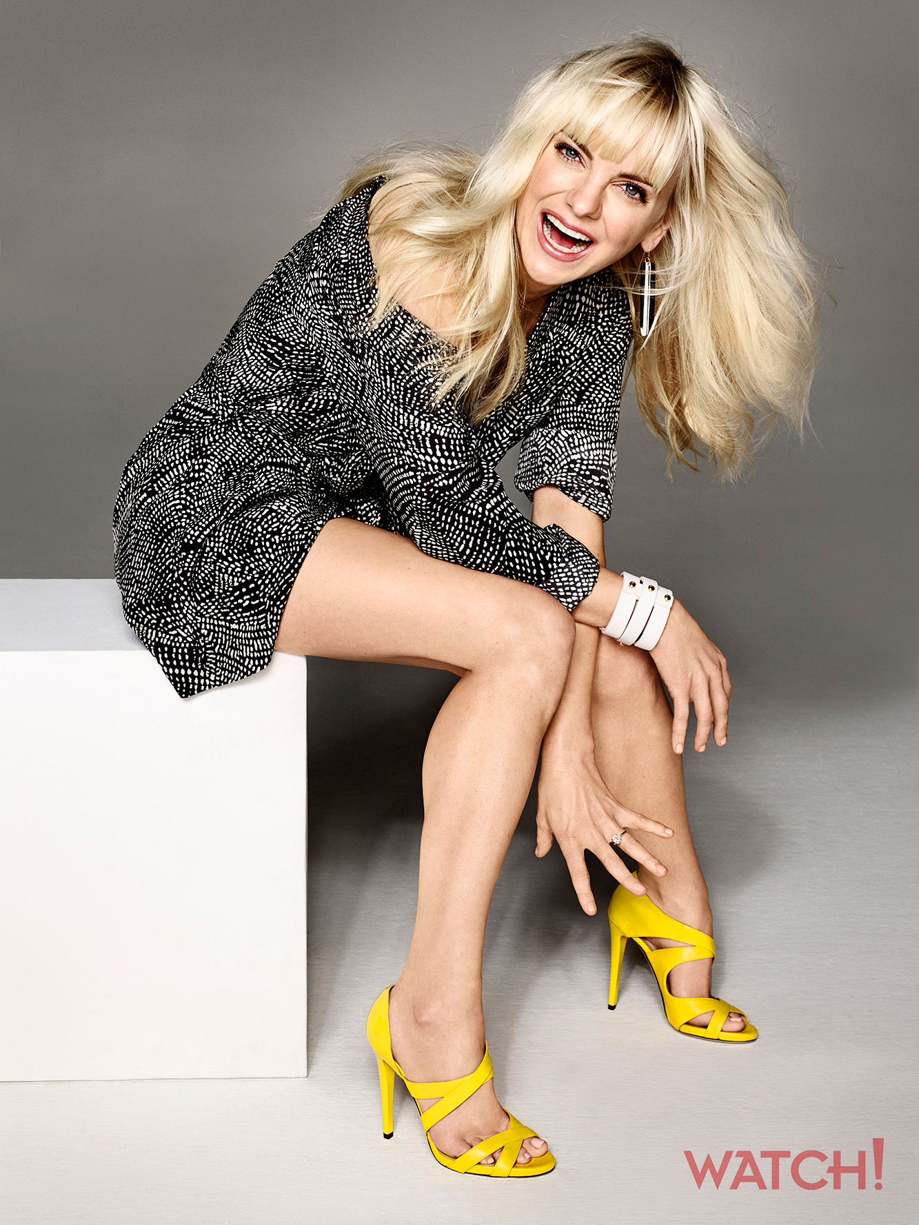 Gorgeous and good-humored, Anna Faris always gets us grinning