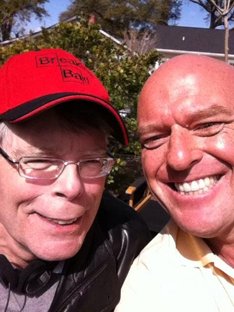 Stephen King and Dean Norris