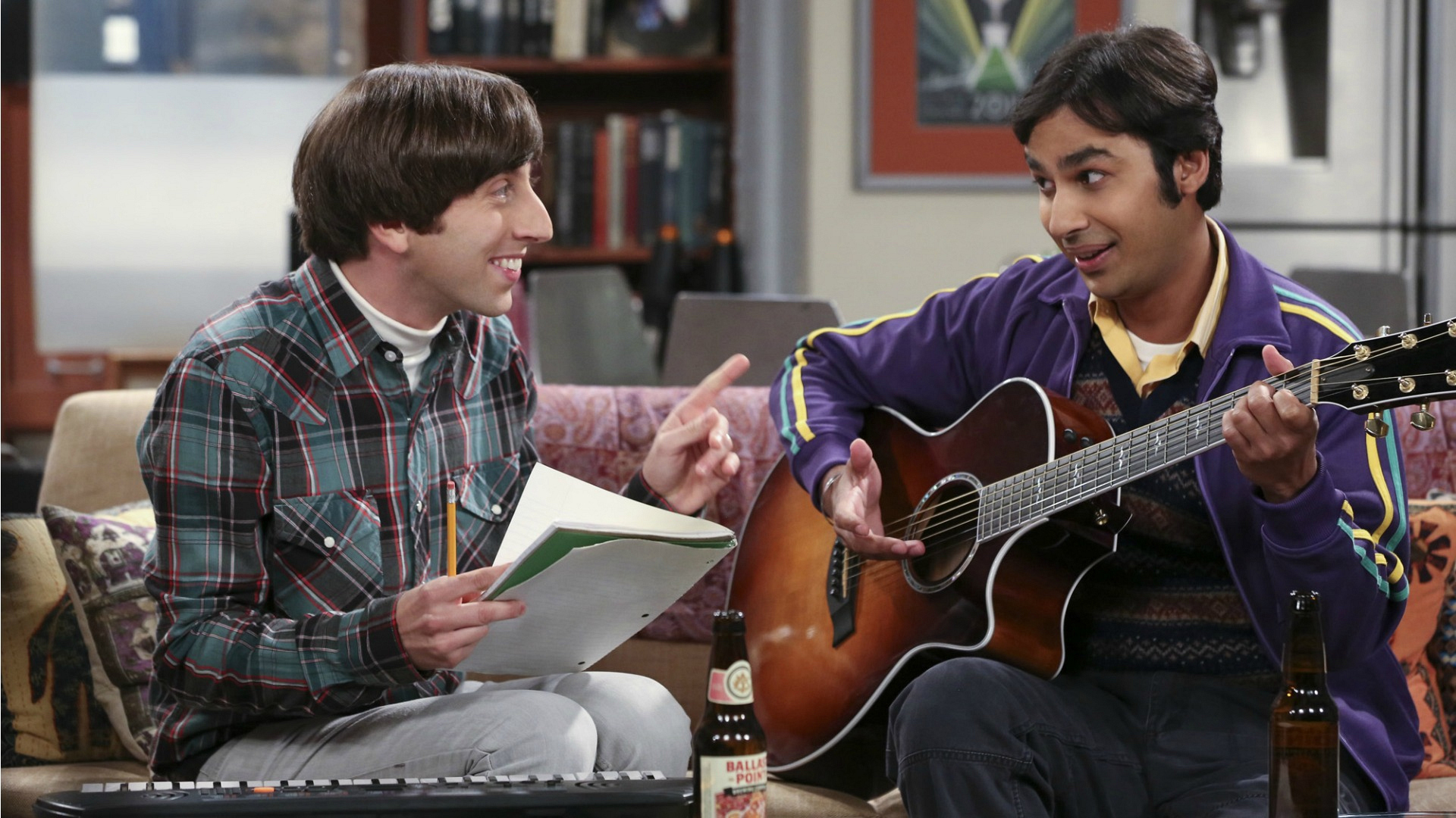 12. We laughed when Howard and Raj started a rock band