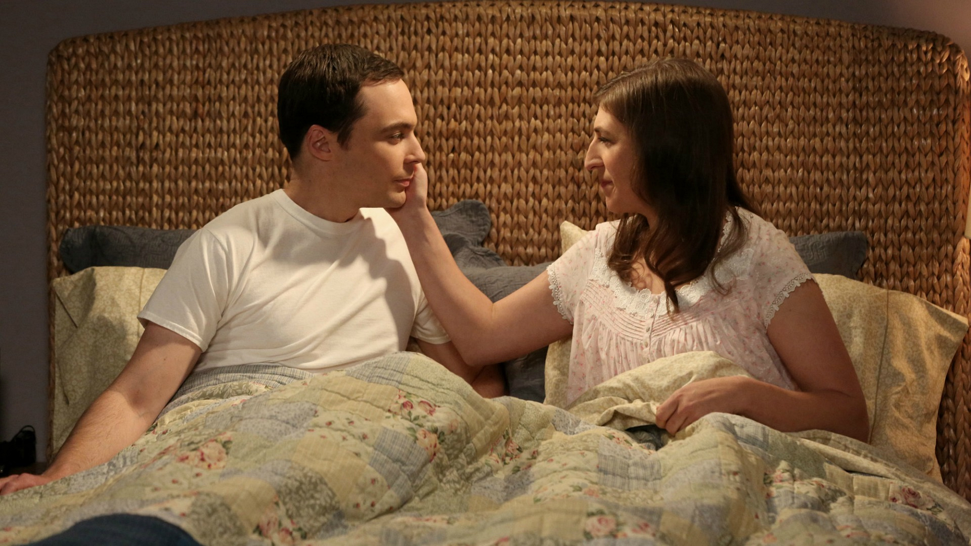 7. We cried when Sheldon and Amy decided to be more intimate with each other
