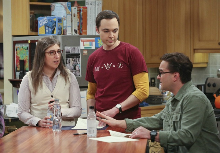 Leonard makes an important point to Amy and Sheldon.