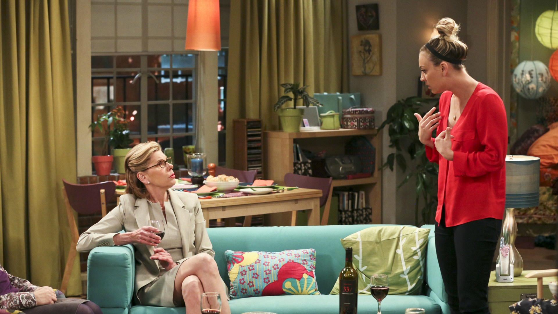 Penny confronts Beverly about building their relationship.
