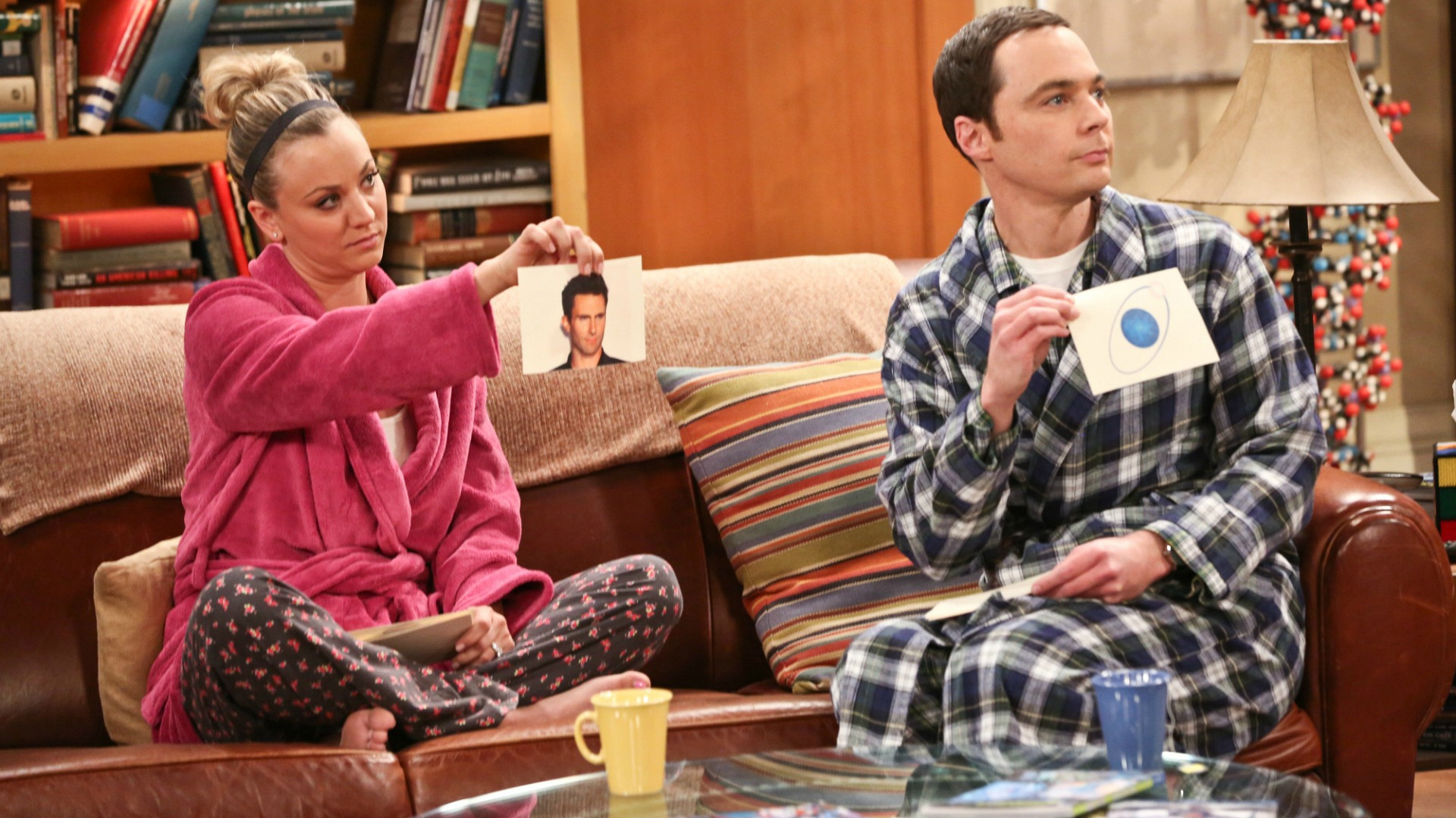 Sheldon and Penny let Leonard play, too.