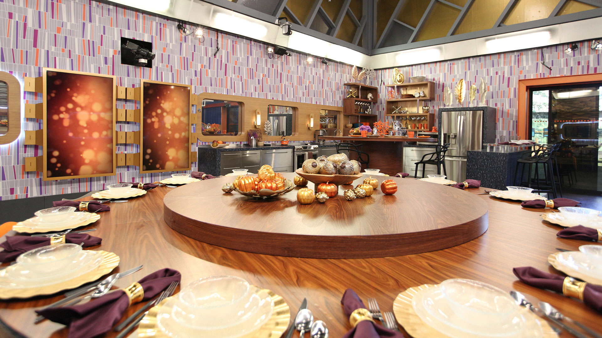 The Houseguests are sure to break bread around this gorgeous spread.