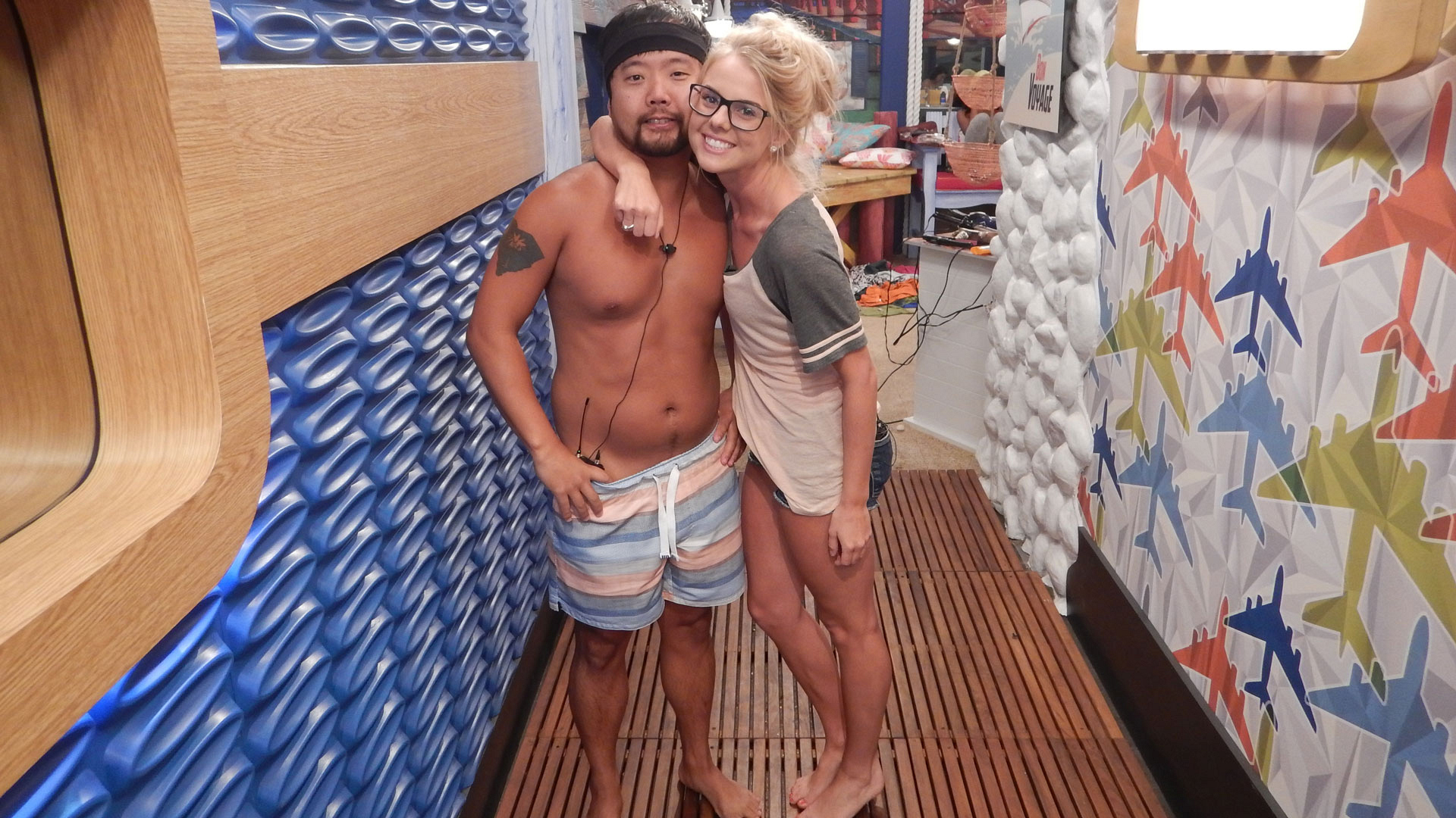 It's just another day in the BB18 house.