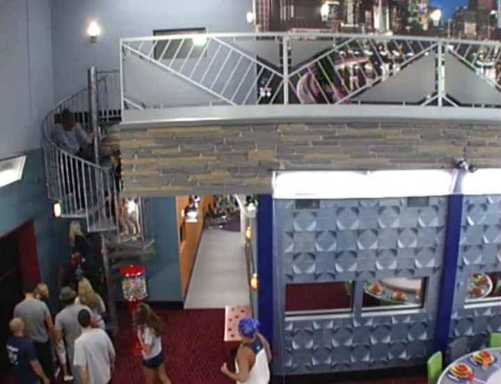 The first Big Brother house with two floors