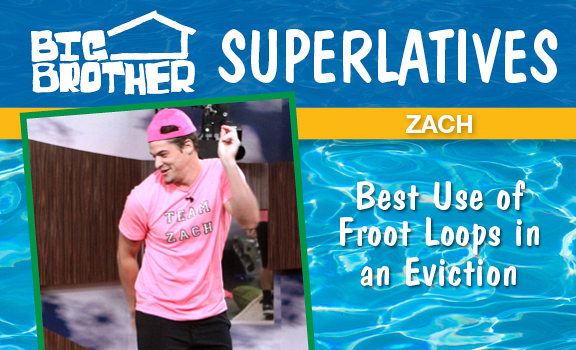 Zach- Best Use of Froot Loops in an Eviction