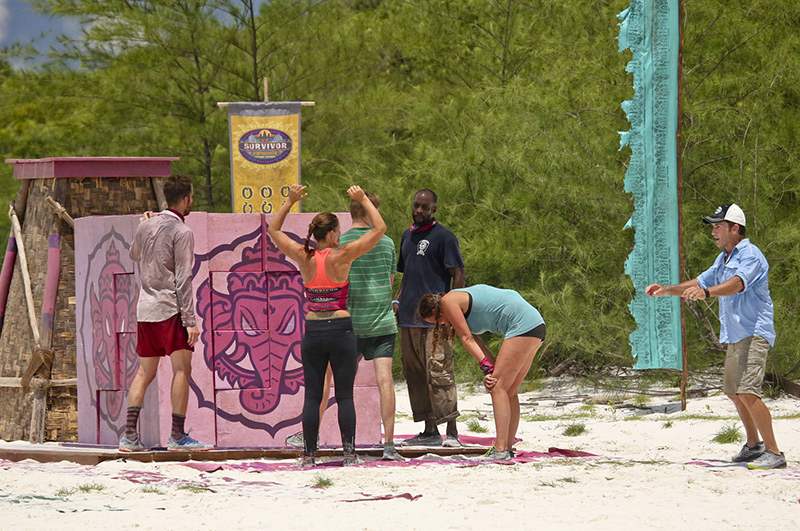 7. What was your favorite challenge this season that you competed in?
