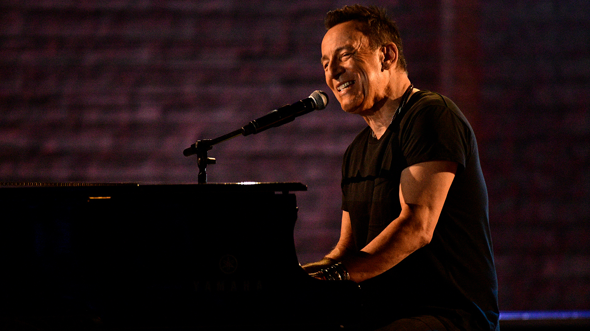 "Bruce Springsteen performs ""My Hometown"" at the 2018 Tony Awards."