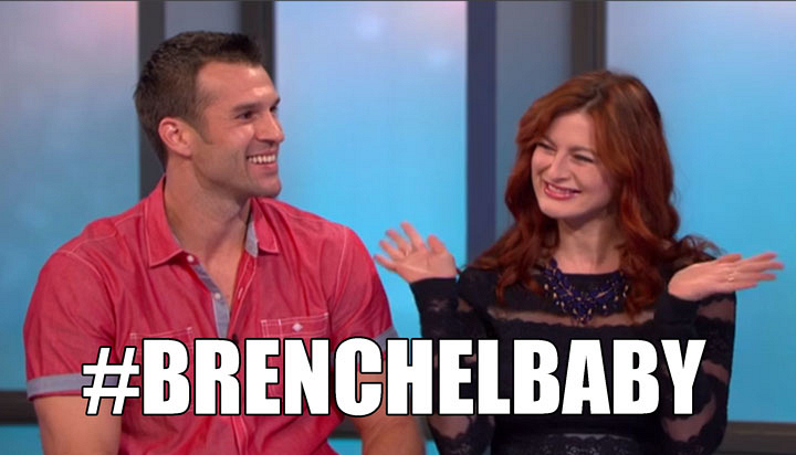Team Brenchel stops by to make a special BB announcement.