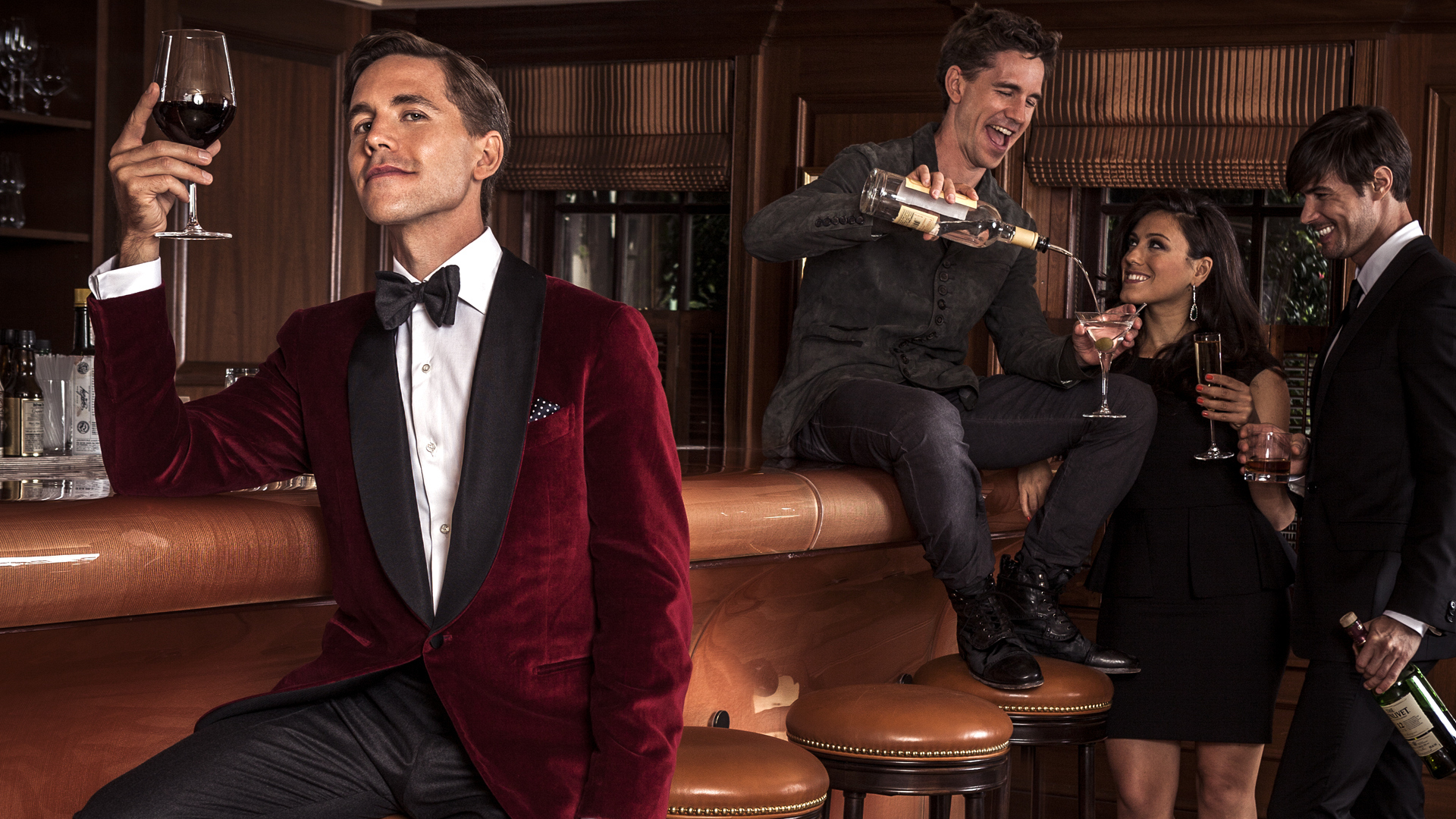 Brian Dietzen shows two sides of his fashion personality