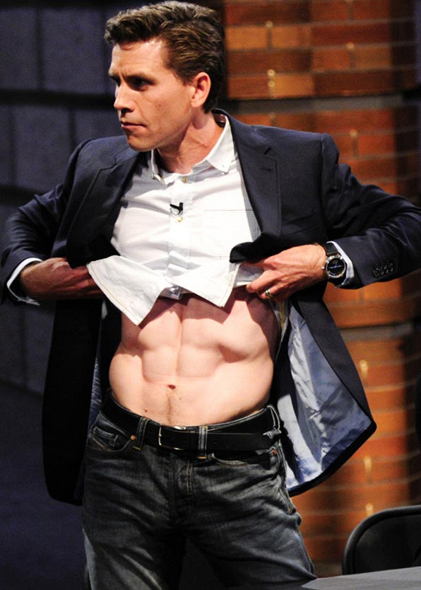 It's Brian Dietzen, who plays Jimmy Palmer on NCIS!