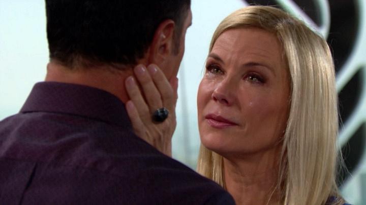 Brooke tells Bill how she really feels.